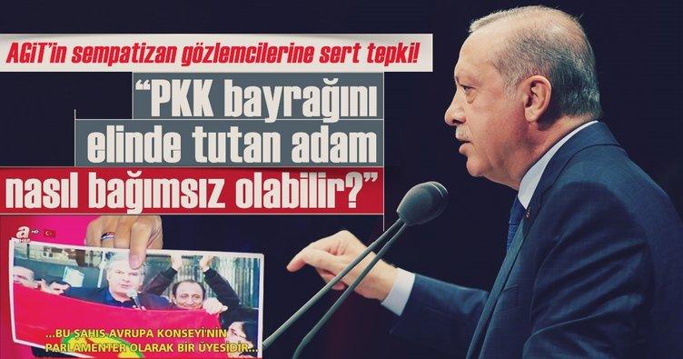 Cumhurbaşkanı Erdoğan'dan AGİT'in gözlemcilerine sert tepki!