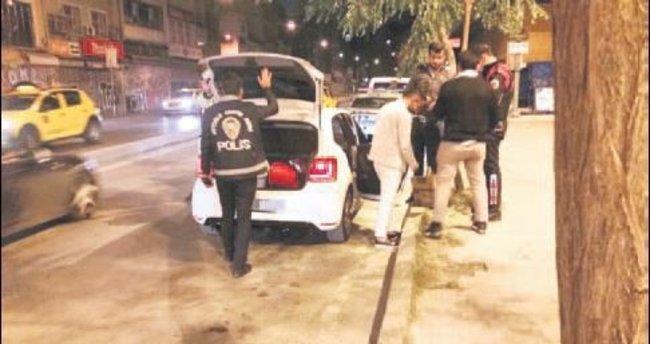 Huzur Asayiş'te 35 silah yakalandı