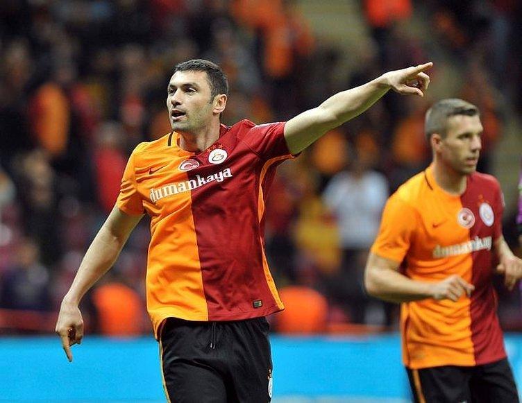 Galatasaray'da Burak Yılmaz krizi!