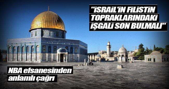 İsrail'in işgali son bulmalı