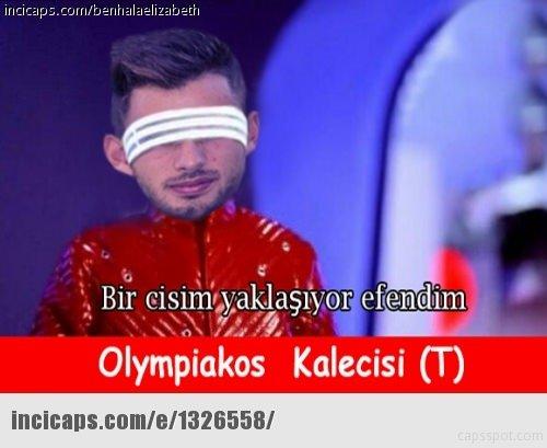 Beşiktaş - Olympiakos maçı capsleri