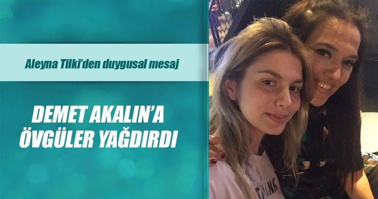 Aleyna Tilki, Demet Akalın'ın doğum gününü böyle kutladı