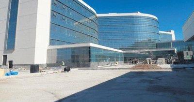 Şehir hastanesinin yüzde 95'i tamamlandı