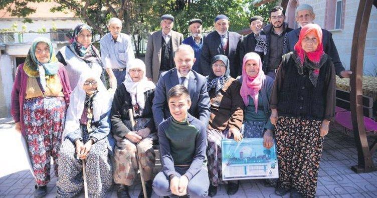 Ertürk'ten köylere ramazan çıkarması