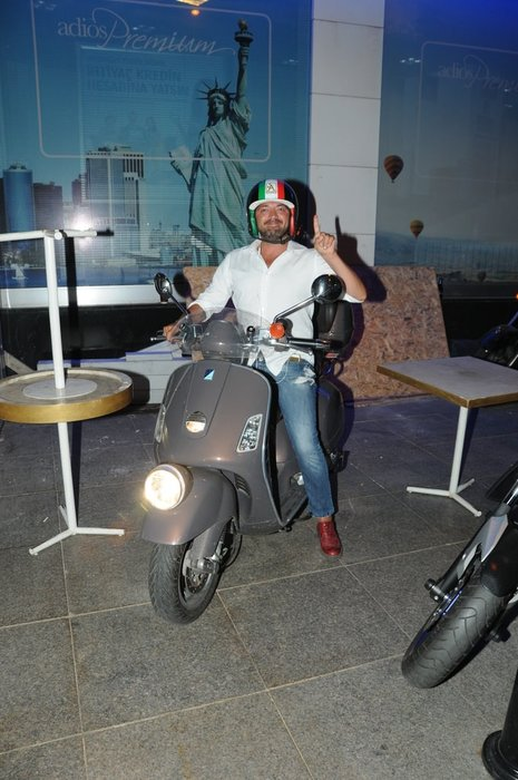 'Motosikletim benim için özel tasarlandı'