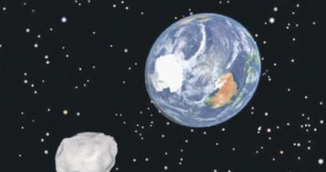 Dünya'ya çarpacak göktaşı 5 gün önceden bilinecek