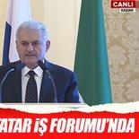 Başbakan Binali Yıldırım, Türk-Tatar İş Forumu'nda konuştu