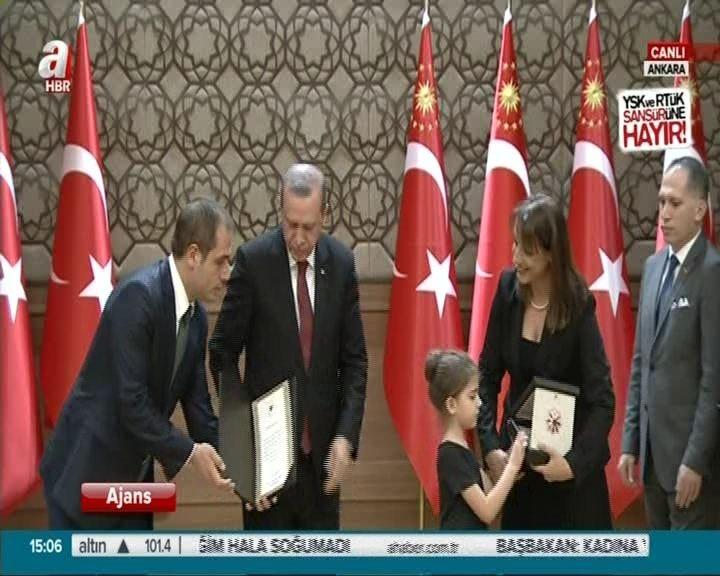 Cumhurbaşkanlığı Sanat Ödülleri verildi