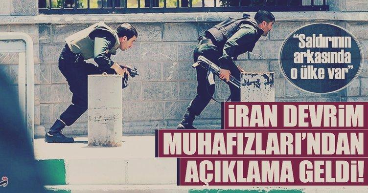 İran Devrim Muhafızları: Saldırının arkasında Suudi Arabistan var