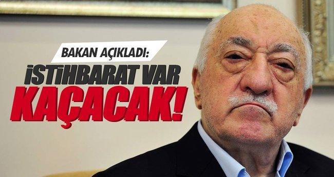 Bozdağ'dan flaş açıklama: İstihbarat var FETO kaçacak!