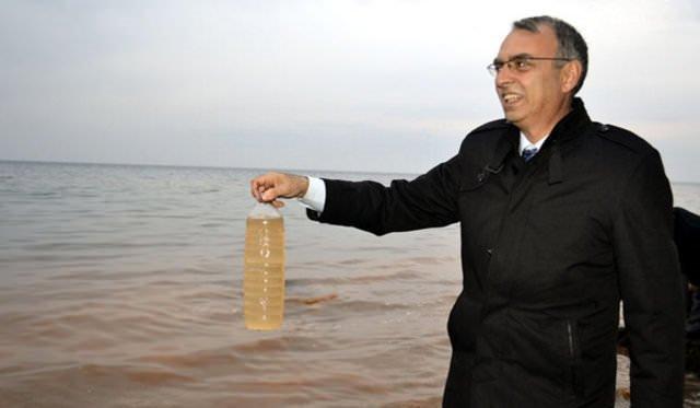 Karadeniz'de esrarengiz görüntü!