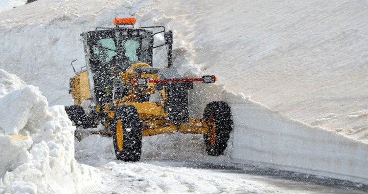 Bitlis'te karla mücadele sürüyor