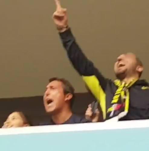 Ali Koç'un derbi sevinci sosyal medyayı salladı