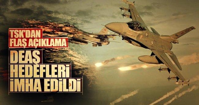 Türk savaş uçakları El Bab'ı vurdu