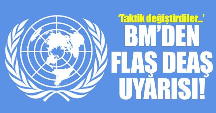 BM'den DEAŞ askeri yapısında değişime gitti uyarısı!