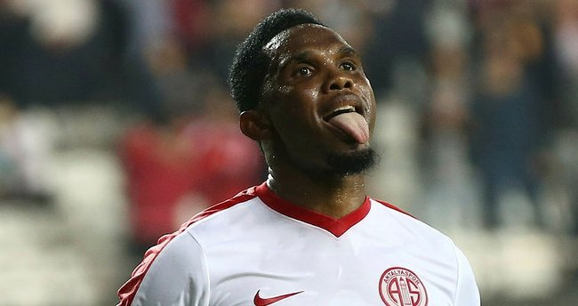 Eto'o, Trabzonspor karşısında yok!