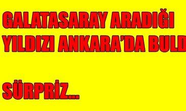 Galatasaray çareyi Ankara'da buldu! Galatasaray'dan son dakika transfer haberleri...