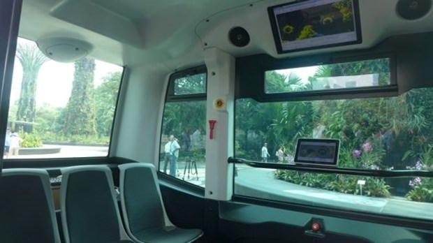 Sürücüsüz otobüsler yola çıkıyor
