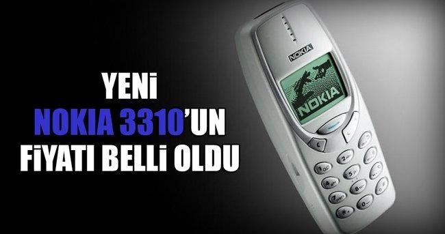 YENİ NOKİA 3310'UN FİYATI BELLİ OLDU
