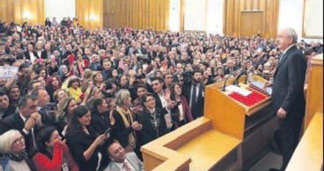 CHP'li gençler Meclis'i birbirine kattı!