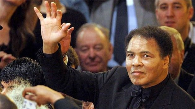 Muhammed Ali'nin cenazesinden kareler