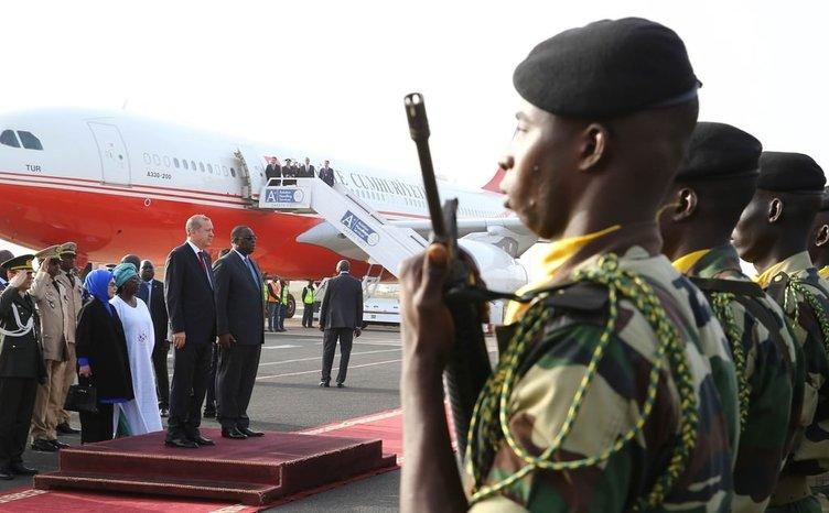Erdoğan'dan Senegal'e kısa ziyaret
