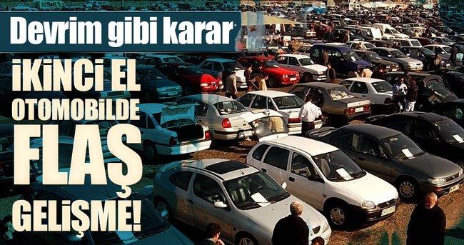 İkinci el araç satışlarında 10 bin kilometre araçlar da garanti kapsamına girecek!