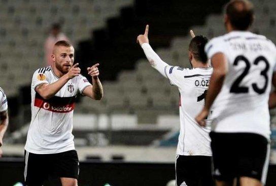 Beşiktaş - Asteras maçı Twitter'ı salladı