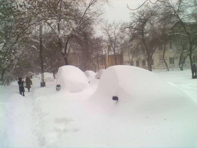 Metrelerce karın altında