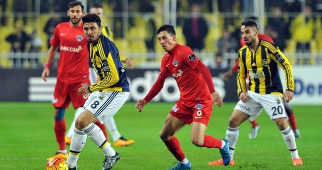 Fenerbahçe ile Kasımpaşa 27. maça çıkıyor