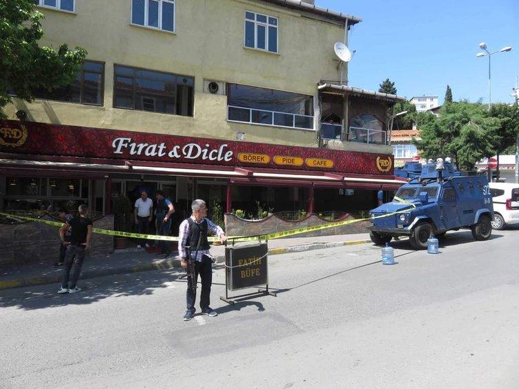 İstanbul'da kafe tarandı!