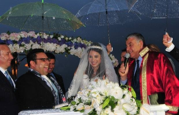Okan Karacan'ın düğününden kareler