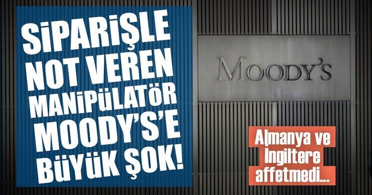 Siparişle kredi notu veren Moody's'e şok ceza!