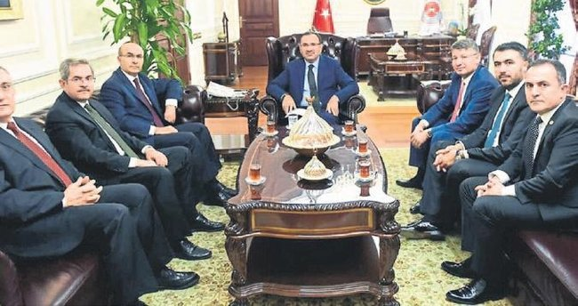 Adana Valisi Demirtaş bakanlarla görüştü
