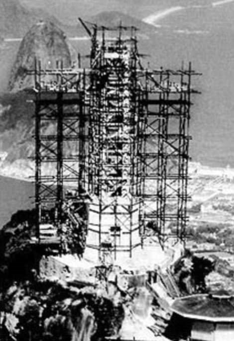 Rio'daki İsa Heykelinin İnşa Süreci