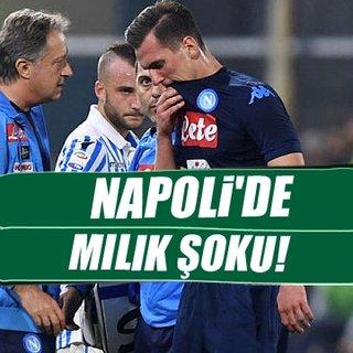 Napoli'de Milik şoku!