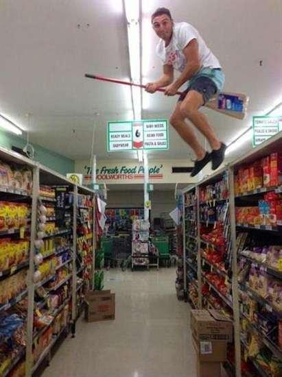 Yeni internet fotoğraf çılgınlığı: Quidditch