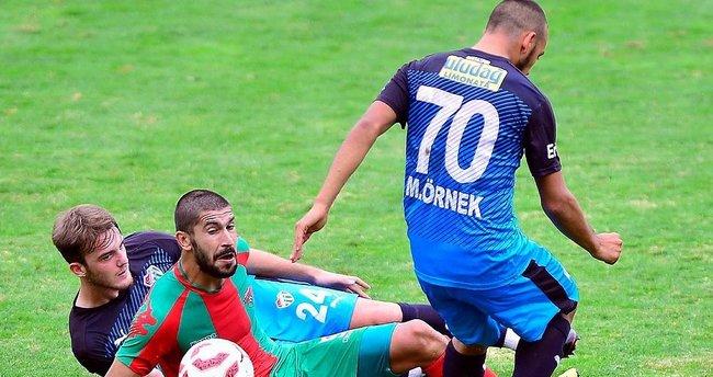 Bursa'ya tur için tek gol yetti
