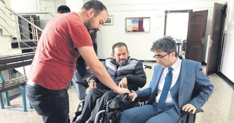 Engelli gence akülü araç