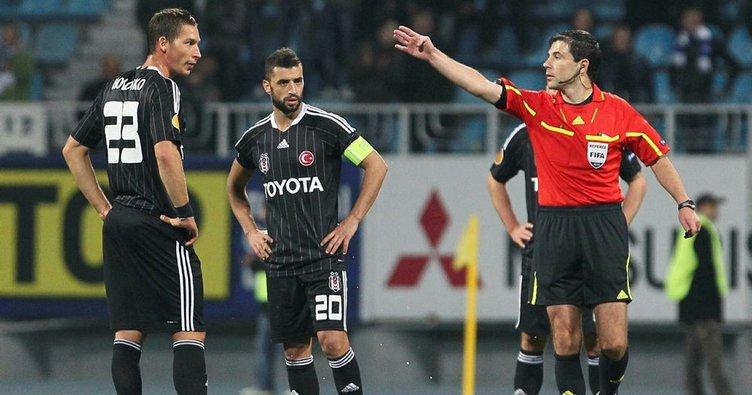 Beşiktaş - Lyon maçının hakemi Milorad Mazic