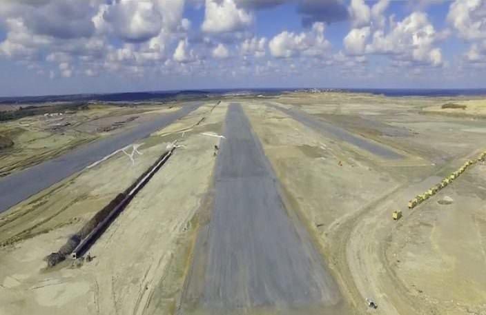 3. havalimanı bu ülkelerden büyük!
