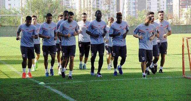 Adanaspor, Alanyaspor maçına hazırlanıyor