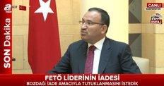 Adalet Bakanı Bozdağ AHaber'de - CANLI