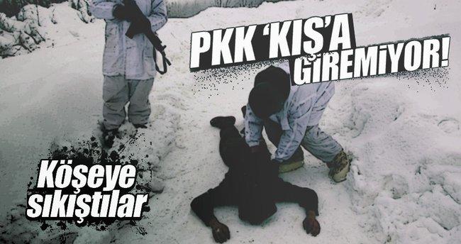 PKK 'kış'a geçemiyor!