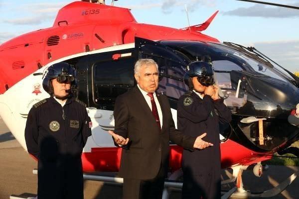 Ambulans helikopterler gece de uçabilecek