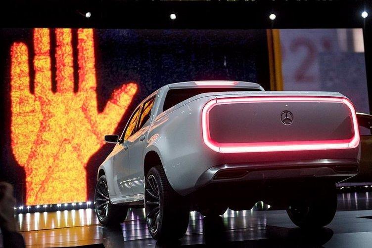 Karşınızda premium pickup Mercedes X-CLASS!