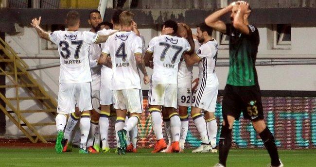 Fenerbahçe'nin forvetleri iyi çalışıyor