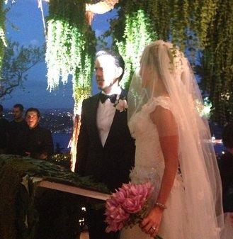 Bade İşçil ile Malkoç Süalp'in düğününden fotoğraflar