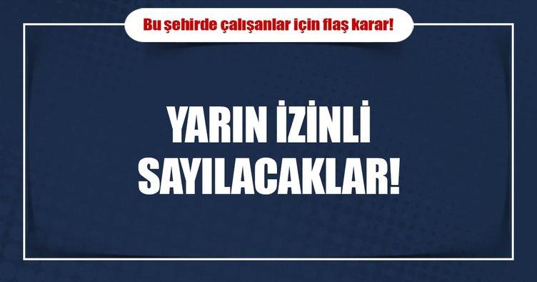 Aydın'da hamile ve engelliler yarın idari izinli sayılacak