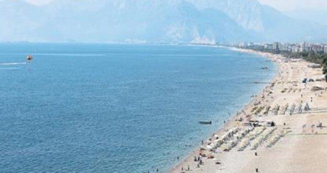 Okullar açılınca sahiller boş kaldı